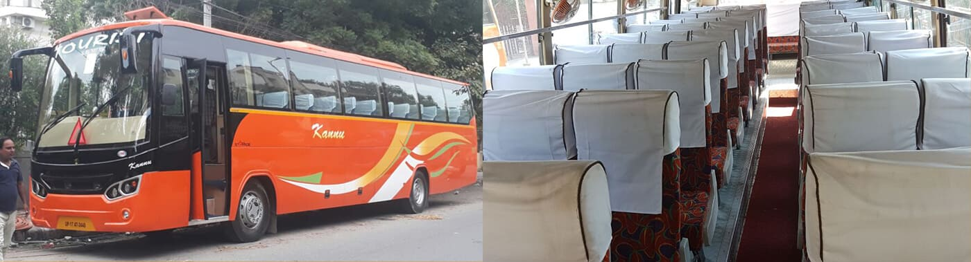 45 seater bus booking