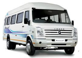 26 Seater Tempo Traveller Rent